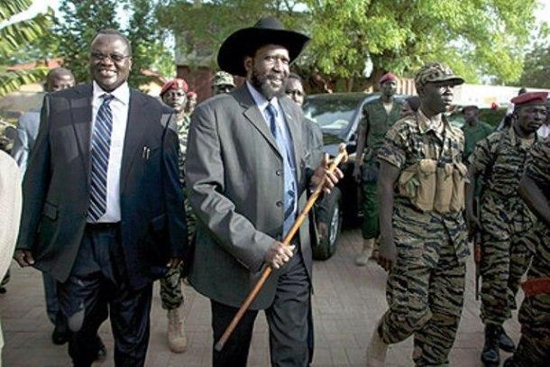 معارك عنيفة بين قوات سلفا ومتمردي جنوب السودان