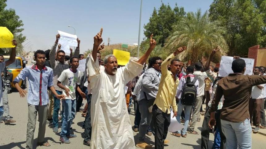 """إستمرار """"التظاهرات"""" ضد السلطة بعدد من ولايات السودان"""