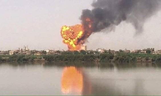 """جرح (18) شخصا بسبب إنفجار شاحنة """"الغاز"""" وإتهامات للسلطات بالتقصير"""