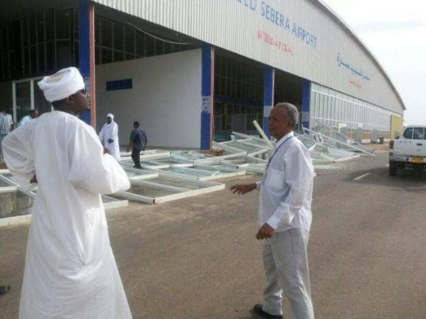 قضية فساد مطار (صبيره) المنهار بالجنينة تعود للواجهة