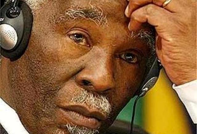 أمبيكي: لا تفاوض حول خارطة الطريق الأفريقية