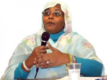 مريم المهدي: حملة هنا الشعب لاسقاط النظام متواصلة