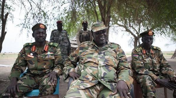 متمردو الجنوب يعلنون اشتباكات مع قوات سلفاكير بالاستوائية