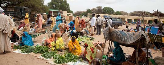 نساء دارفور يصنعن الحياة من ركام الحرب!