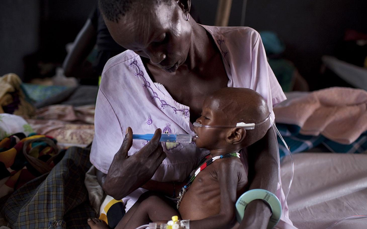 جوبا تعلق إنزال المساعدات الإنسانية بالطائرات للمتضررين