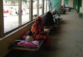 وفيات واصابات بالكوليرا في بورتسودان