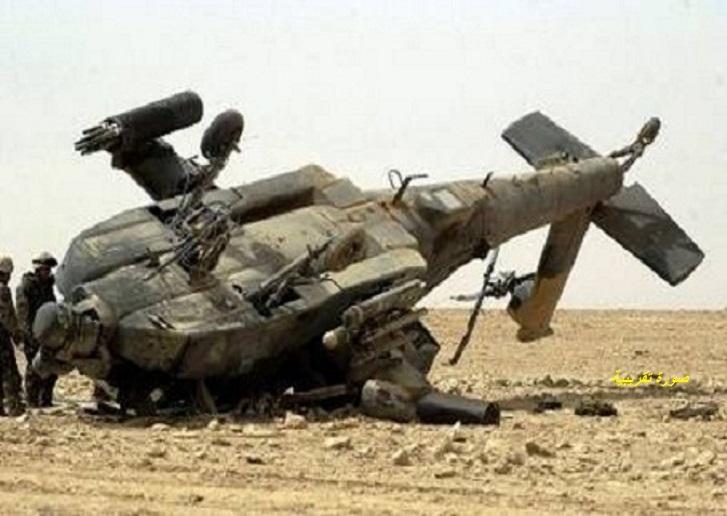 سقوط مروحية تابعة للجيش في كوستي