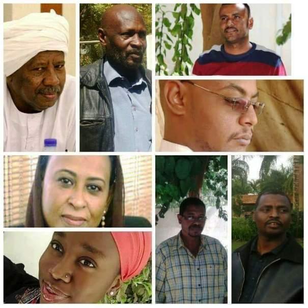 """أصدرت المحكمة حكمها في قضية ناشطي تراكس  """"أصبح ناشطو تراكس رموزا تراجيدية للتحديات التي يواجهها المجتمع المدني في السودان"""""""