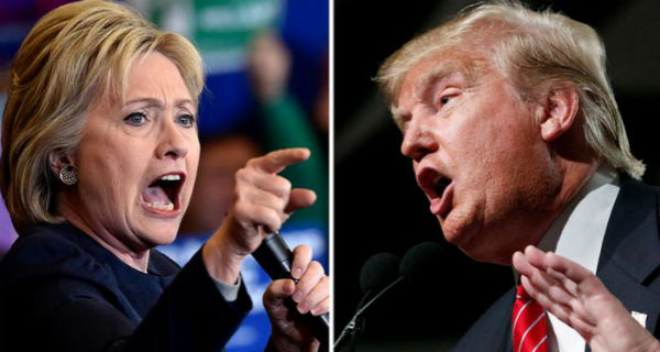 ساعات على الانتخابات الأمريكية.. هيلاري تتقدم بأربع نقاط