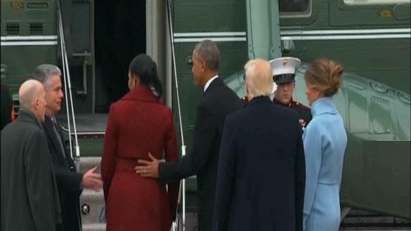 """اوباما يودع .. وترامب يتعهد بمحو """"الإرهاب الإسلامى"""" من على وجه الارض"""