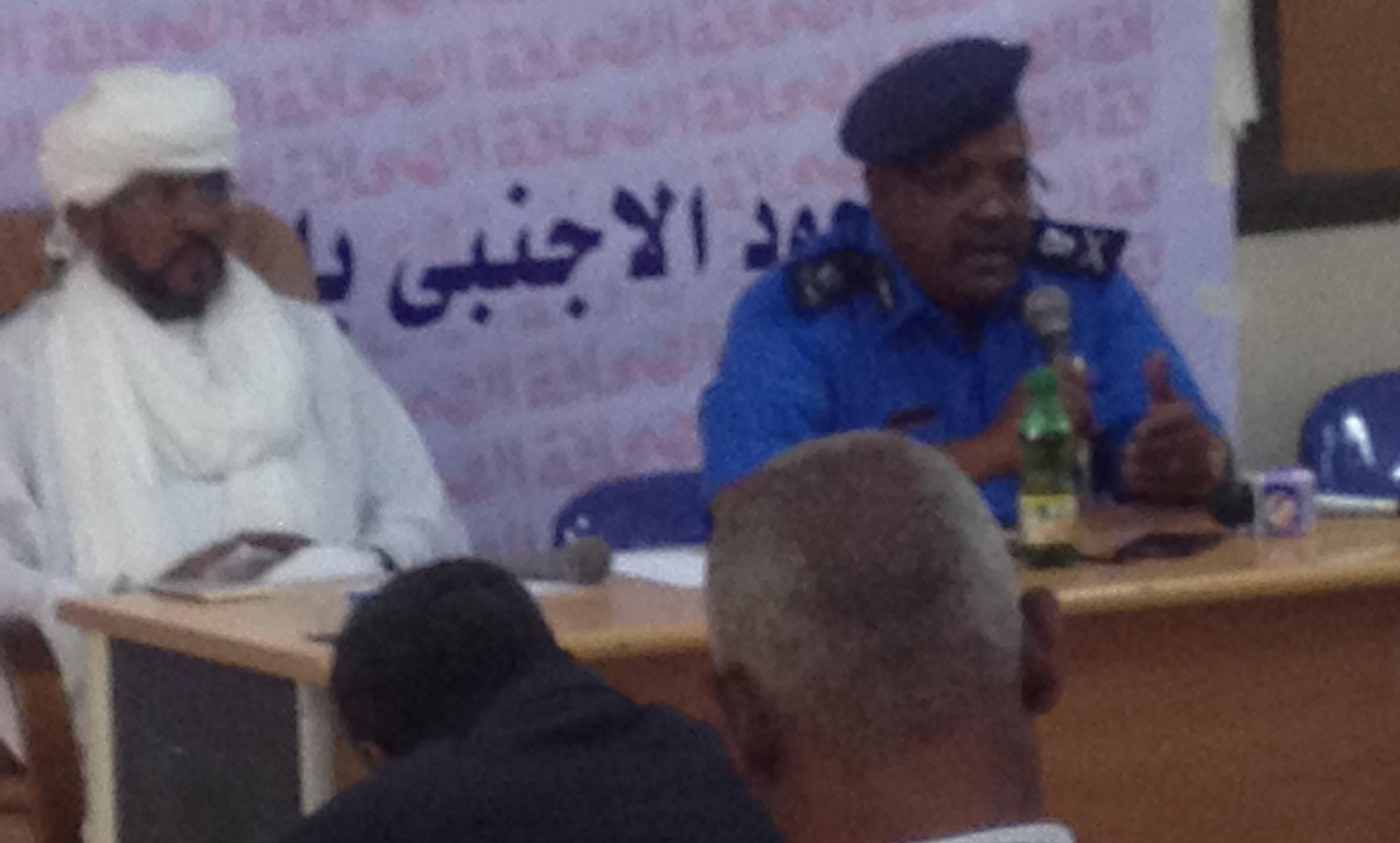 الداخلية : مليون ونصف مهاجر غير نظامى .. السوريين اضافوا للمجتمعات السودانية