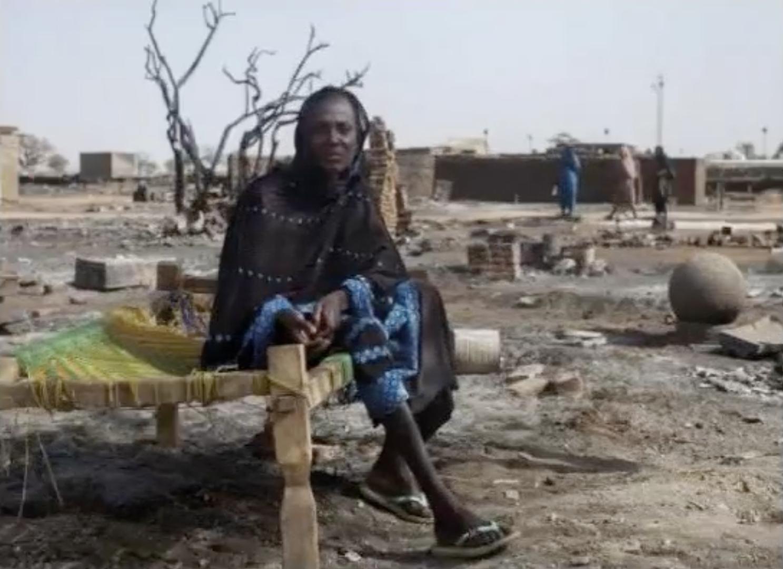ناجية من محرقة دارفور تروي قصتها (1)-شاهد الفيديو