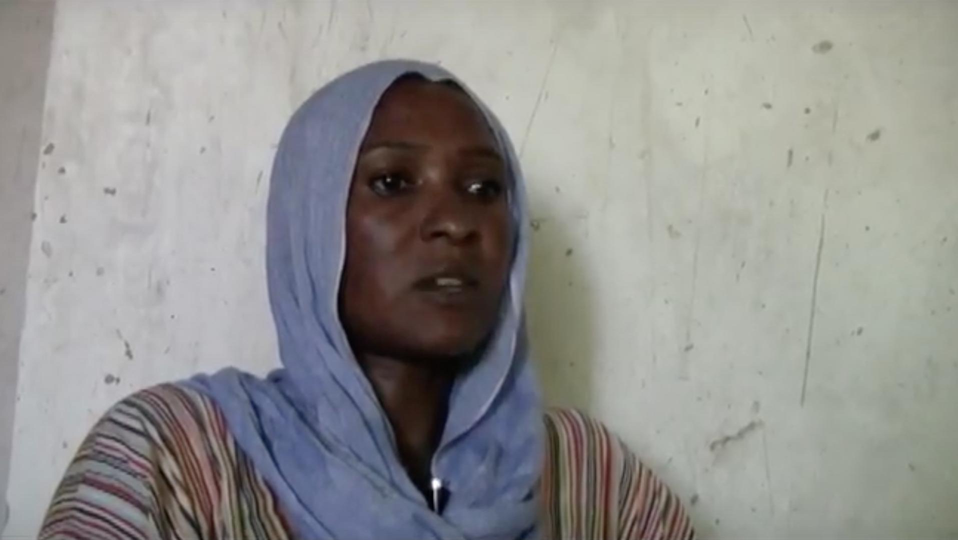 ناجية من محرقة دارفور تروي قصتها (2)-شاهد الفيديو