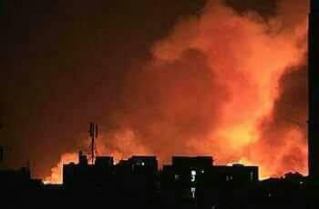 انفجارات تهز مدينة (الأبيض) ورعب وسط السكان