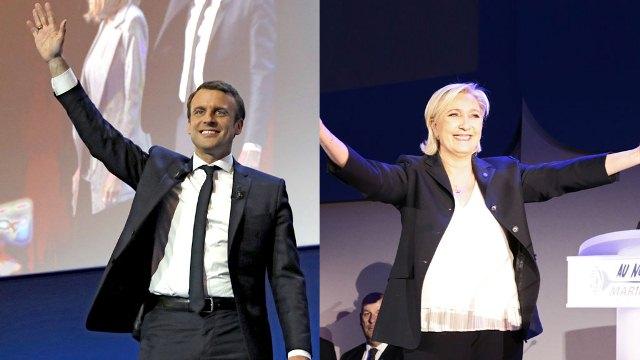 """قادة اليمين واليسار يدعون الفرنسيين الى اسقاط زعيمة المتطرفين """"مارين لوبان"""""""