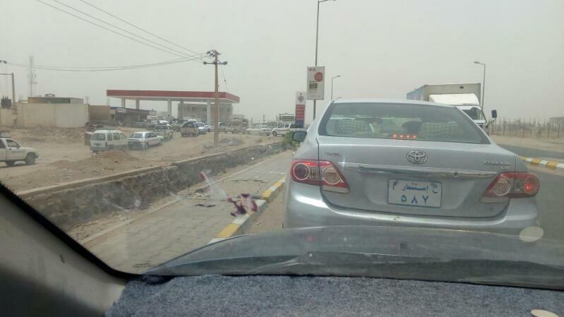 تكدس للسيارات امام المحطات : أزمة الوقود تتجدد فى الخرطوم