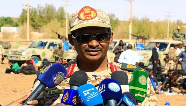 حميدتي يعترف بمقتل نائبه في المعارك ضد قوات مناوي بدارفور