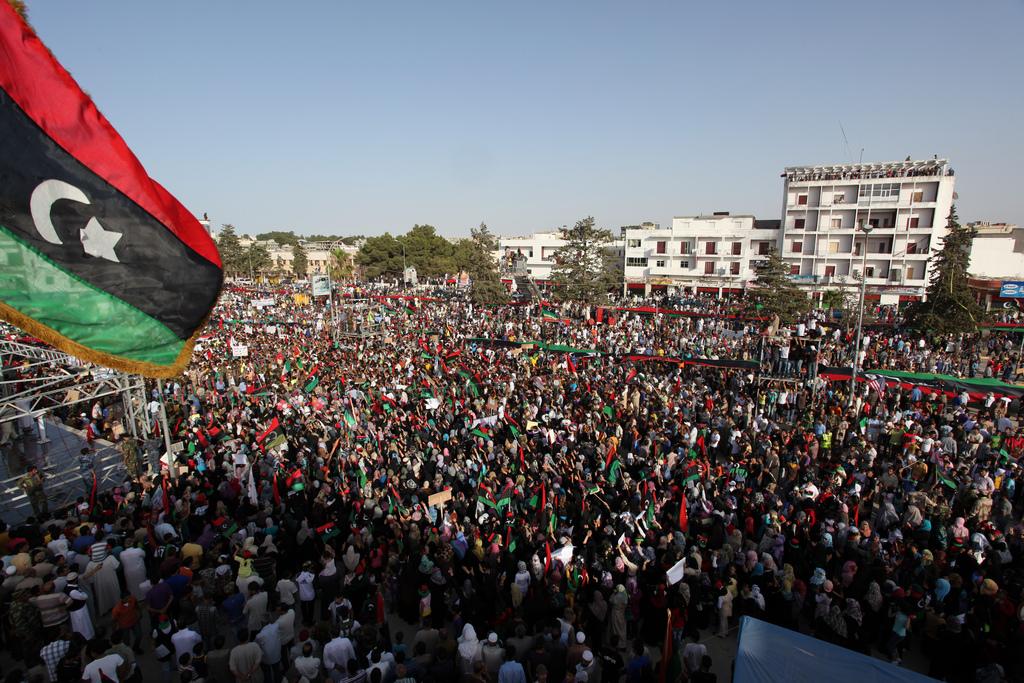 دول ما بعد الربيع العربي وتحديات سيادة حكم حقوق الانسان، (ليبيا نموذجاً)