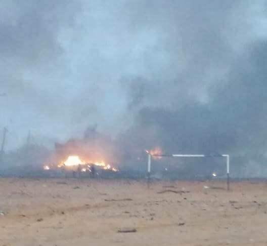مقتل وجرح العشرات في إنفجارات عنيفة لذخيرة (الجنجويد) بوسط نيالا –شاهد الصور