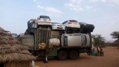 """صورة المركز الافريقي: دراسة """"حول التعامل التجاري في سيارات (البوكو حرام) """""""