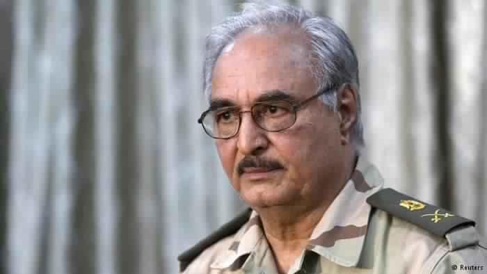 حفتر  يتهم حكومة البشير بالتخطيط لهجمات ارهابية في ليبيا