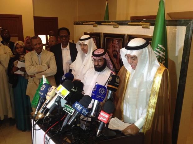 طه ينظم لقاءً بين وزير الخارجية السعودي ونائب الرئيس السوداني