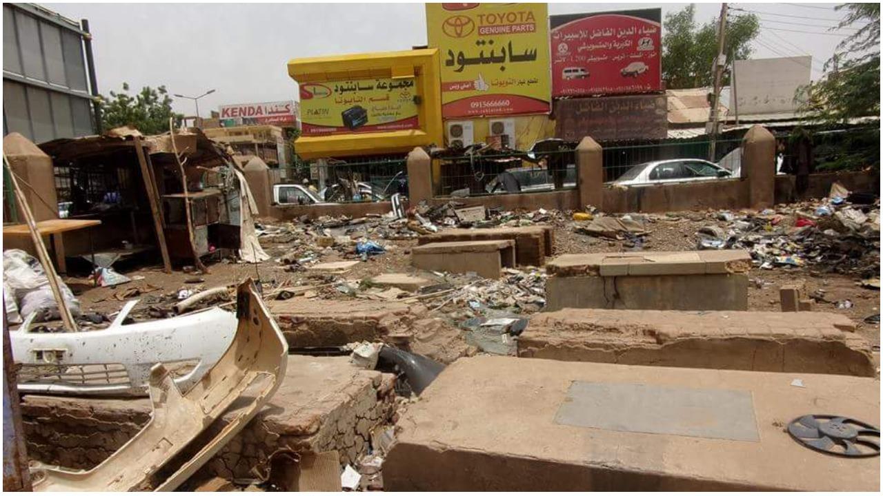 ترميم مقابر اليهود بالخرطوم بعد اعلان واشنطن وقف السودان دعم ( حماس)