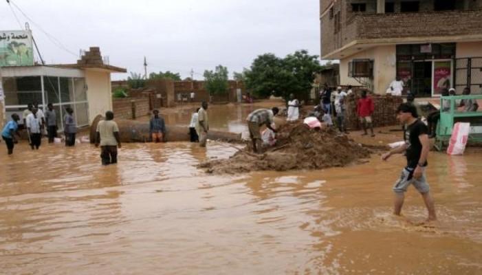 مقتل خمسة أطفال وخسائر فادحة بسبب أمطار الخرطوم