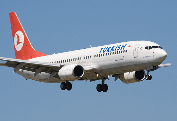 """بعد بلاغ كاذب بوجود """"قنبلة"""".. طائرة تركية تهبط اضطرارياً في مطار الخرطوم"""