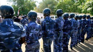 صورة الشرطة توقف (10) من اعضاء لجنة مقاومة الرياض بالخرطوم