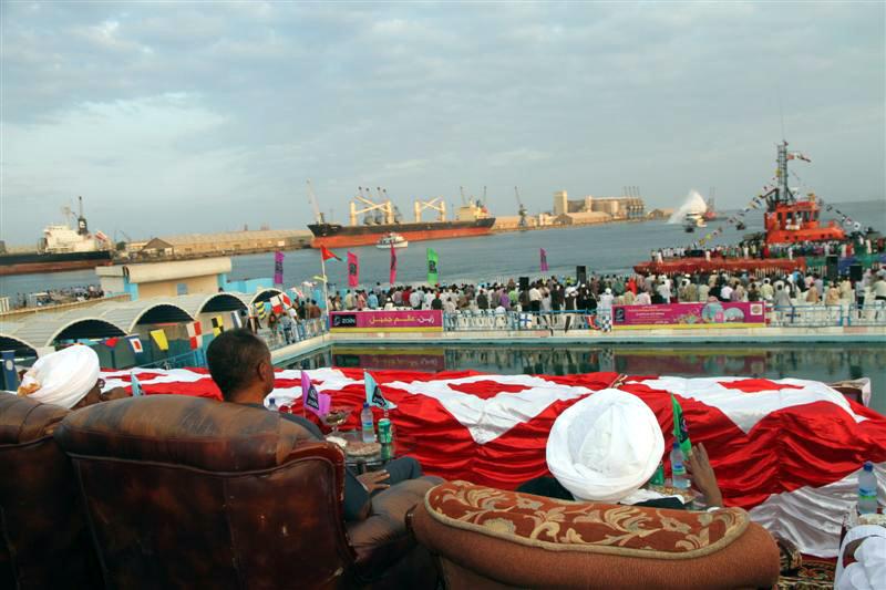 إصابة خمسة أطفال ببورتسودان أثناء افتتاح مهرجان السياحة