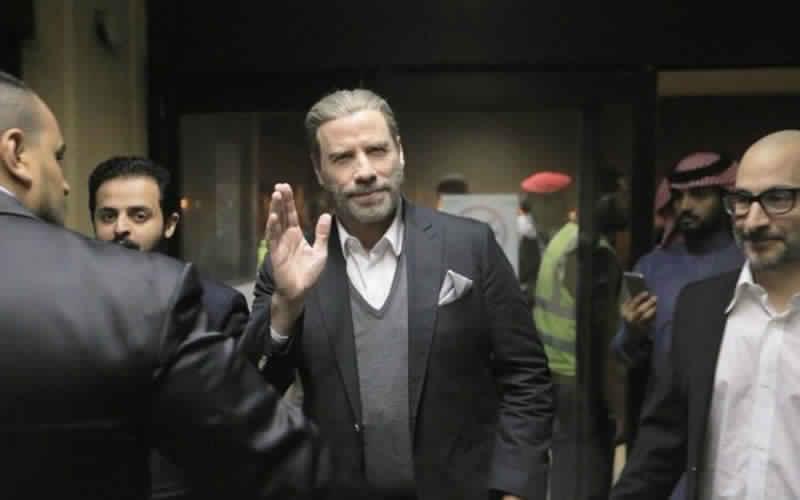 ترافولتا في السعودية بعد السماح بالعروض السينمائية