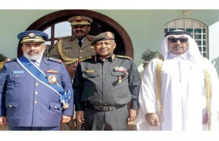 لقاء ثلاثي لقادة عسكريين سوداني وتركي وقطري بالخرطوم