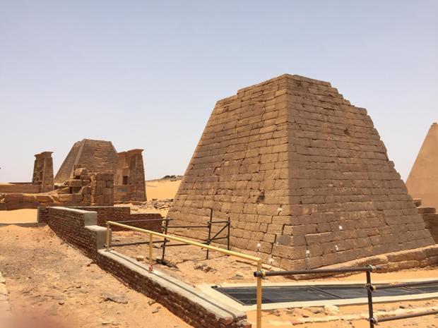 آثار مكتشفة قد تحسم جدل تاريخ الممالك في السودان