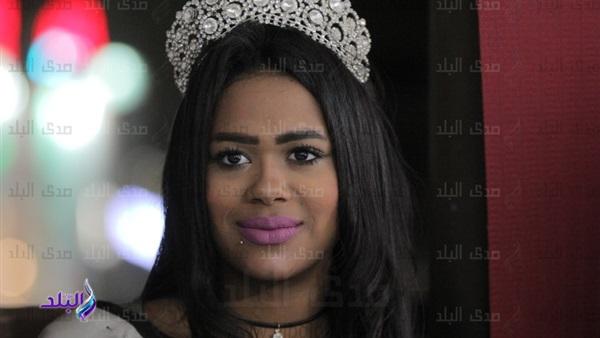 """ملكة جمال السودان بمصر: أسعي لجعل المرأة السودانية """"شجاعة ومتفوقة"""""""