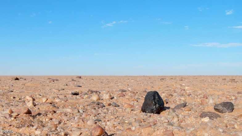 صحراء  السودان تكشف سر كوكب عمره 4.5 مليار سنة