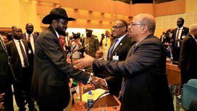 صورة اجتماع بالخرطوم يمهد لنشر قوات عسكرية في جنوب السودان