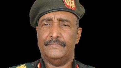 صورة الفريق عبدالفتاح البرهان رئيسا للسودان بعد استقالة ابن عوف