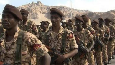 صورة مصادر: تقييد حركة الجنود السودانيين في اليمن منعا من الهرب