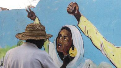 """صورة """"بي بي سي"""": هذا فن الثورة السودانية -صور"""