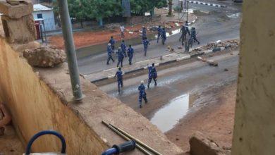 صورة فض الاعتصام بالقوة وقتلى وجرحى واعتقالات