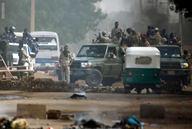 الحماية للشعب السوداني