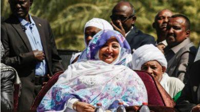 "Photo of زوجة البشير ""مكبلة"" داخل منزلها"