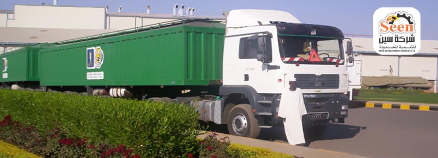 إضراب شاحنات شركة سين للدقيق بعد فصل سائقين