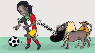 Photo of كاركتير: عبدالحي وكرة القدم النسائية
