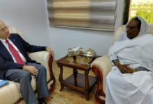 Photo of مسؤولة أممية تزور مخيمات النازحين وسط دارفور