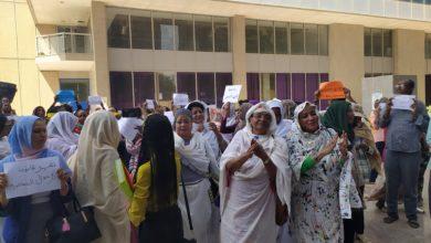 Photo of مئات السودانيات يتظاهرن ضد قانون (الاحوال الشخصية)