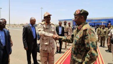 صورة مجلس السيادة السوداني ينفي تغيير وفد التفاوض