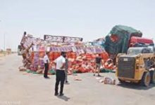Photo of السودان: سودانيون يرسمون لوحة زاهية بإنقاذ (شاحنة شوكولاتة)