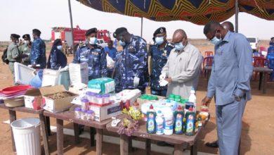 صورة السودان: الجمارك تبيد سلع منتهية الصلاحية قيمتها 60 مليون جنيه